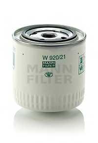 Фильтр масляный MANN-FILTER W 920/21 - изображение