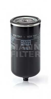 Фильтр топливный MANN-FILTER WDK 724/1 - изображение