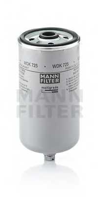 Фильтр топливный MANN-FILTER WDK 725 - изображение
