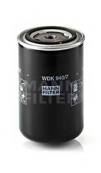 Фильтр топливный MANN-FILTER WDK 940/7 - изображение