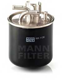 Фильтр топливный MANN-FILTER WK 1136 - изображение