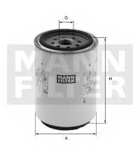 Фильтр топливный MANN-FILTER WK1142x - изображение