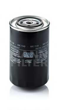 Фильтр топливный MANN-FILTER WK1149 - изображение