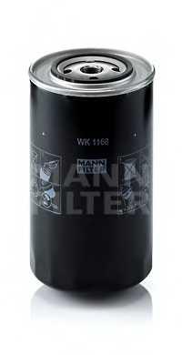Фильтр топливный MANN-FILTER WK 1168 - изображение