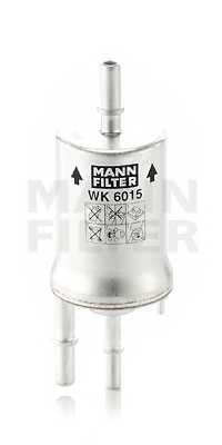 Фильтр топливный MANN-FILTER WK 6015 - изображение