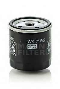 Фильтр топливный MANN-FILTER WK712/5 - изображение