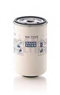 Фильтр топливный MANN-FILTER WK723/6 - изображение