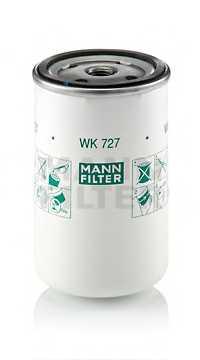 Фильтр топливный MANN-FILTER WK 727 - изображение