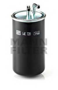 Фильтр топливный MANN-FILTER WK 728 - изображение