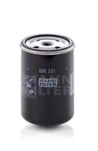 Фильтр топливный MANN-FILTER WK 731 - изображение