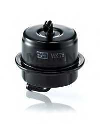 Фильтр топливный MANN-FILTER WK 76 - изображение