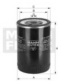 Фильтр топливный MANN-FILTER WK 8001 - изображение
