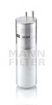 Фильтр топливный MANN-FILTER WK8020 - изображение