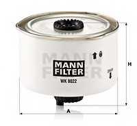Фильтр топливный MANN-FILTER WK 8022 x - изображение