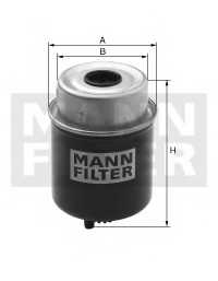 Фильтр топливный MANN-FILTER WK 8138 - изображение