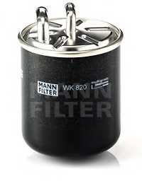 Фильтр топливный MANN-FILTER WK 820 - изображение