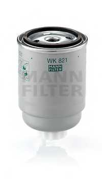 Фильтр топливный MANN-FILTER WK 821 - изображение