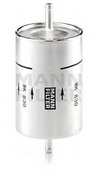 Фильтр топливный MANN-FILTER WK 830 - изображение