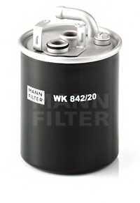 Фильтр топливный MANN-FILTER WK 842/20 - изображение