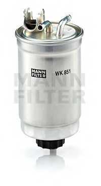 Фильтр топливный MANN-FILTER WK851 - изображение