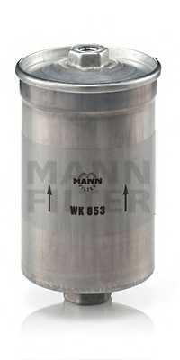 Фильтр топливный MANN-FILTER WK853 - изображение