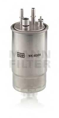 Фильтр топливный MANN-FILTER WK 853/24 - изображение