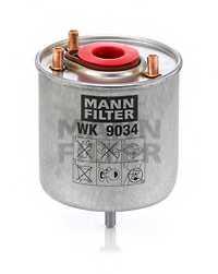 Фильтр топливный MANN-FILTER WK9034z - изображение