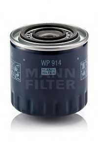 Фильтр масляный MANN-FILTER WP 914 - изображение