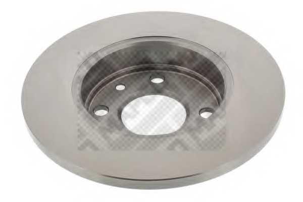 Тормозной диск MAPCO 15108 - изображение 1