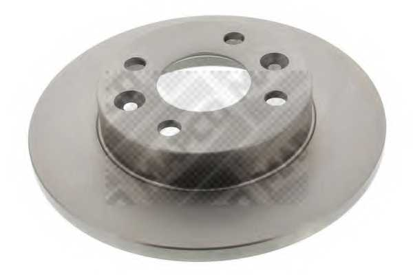 Тормозной диск MAPCO 15108 - изображение