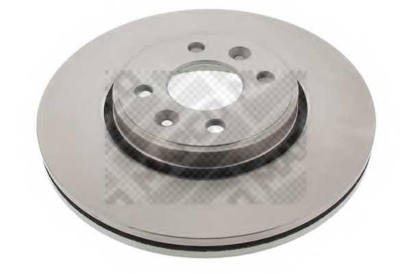 Тормозной диск MAPCO 15117 - изображение
