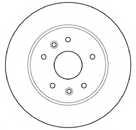 Тормозной диск MAPCO 15119 - изображение