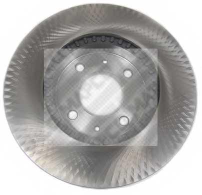 Тормозной диск MAPCO 15503 - изображение