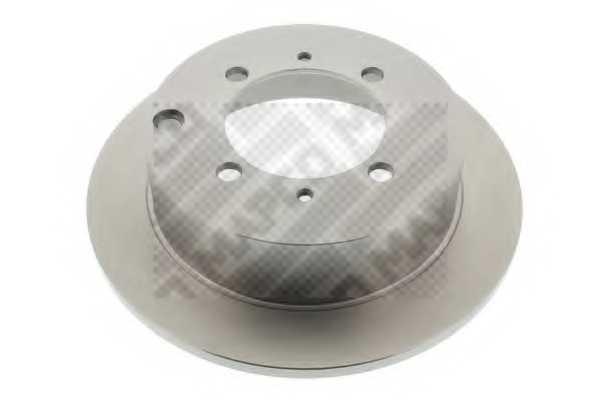 Тормозной диск MAPCO 15541 - изображение