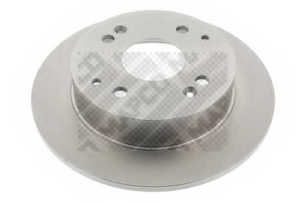 Тормозной диск MAPCO 15618 - изображение