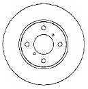 Тормозной диск MAPCO 15671 - изображение