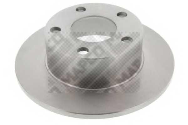 Тормозной диск MAPCO 15711 - изображение