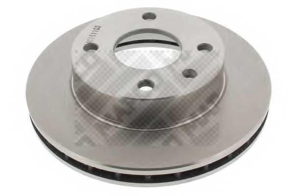 Тормозной диск MAPCO 15725 - изображение
