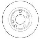 Тормозной диск MAPCO 15755 - изображение