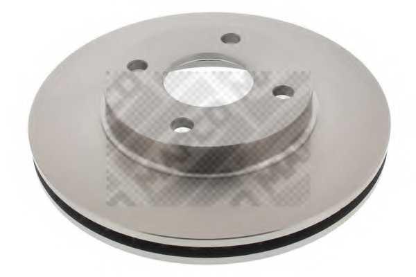 Тормозной диск MAPCO 15765 - изображение