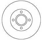 Тормозной диск MAPCO 15826 - изображение