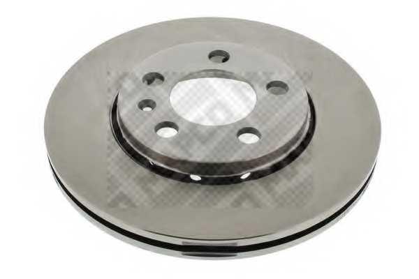 Тормозной диск MAPCO 15830 - изображение