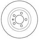Тормозной диск MAPCO 15831 - изображение