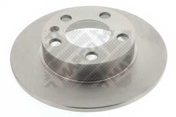 Тормозной диск MAPCO 15837 - изображение