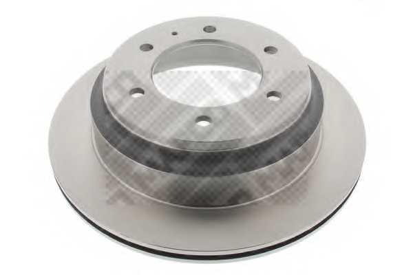 Тормозной диск MAPCO 15850 - изображение