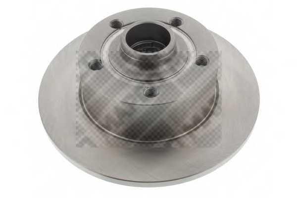 Тормозной диск MAPCO 15868 - изображение
