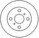 Тормозной диск MAPCO 25550 - изображение