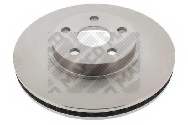 Тормозной диск MAPCO 25553 - изображение