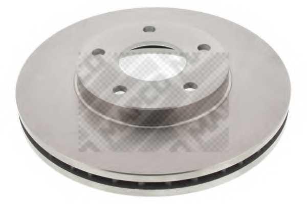 Тормозной диск MAPCO 45517 - изображение