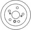 Тормозной диск MAPCO 45555 - изображение